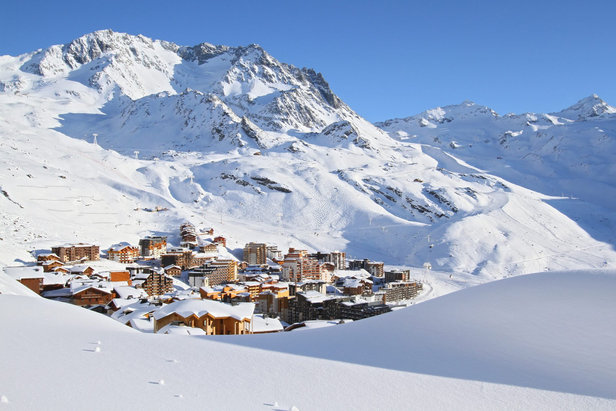 La neige est déjà bien présente sur le domaine skiable de Val Thorens qui ouvrira dès ce week-end - ©Office de Tourisme Val Thorens