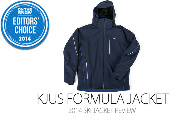 KJUS Formula Jacket, 2014 Editors Choice Men Ski Jacket