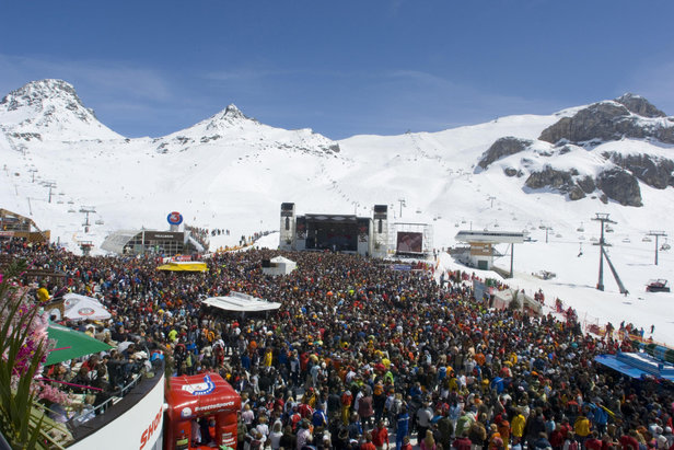 Top of the Mountain: concert ter afsluiting van het skiseizoen in Ischgl - ©TV Paznaun/Ischgl