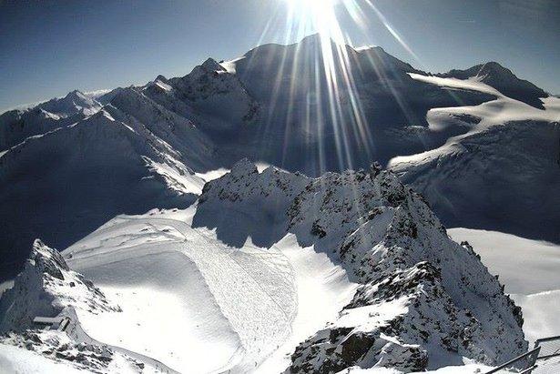 Pitztaler Gletscher am 15.1.2014 - ©Facebook Pitztaler Gletscher