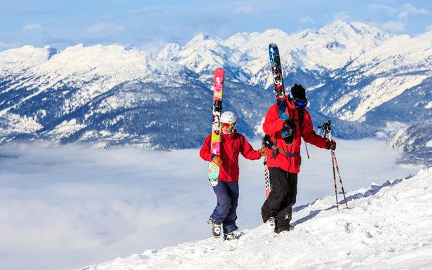 Infographic: 10 Biggest Ski Resort Verticals in North America  - ©Liam Doran