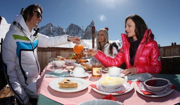 Trentino Ski Sunrise - Colazione in pista!