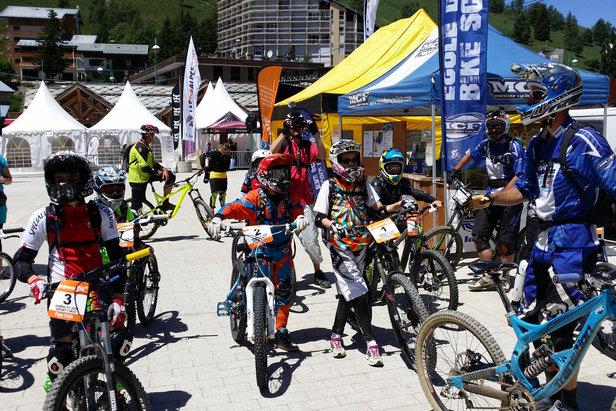 FREE RAID CLASSIC 2014 - ©OT Les 2 Alpes