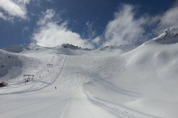 Ghiacciaio Presena, 29 Aprile 2014 - ©Adamello Ski