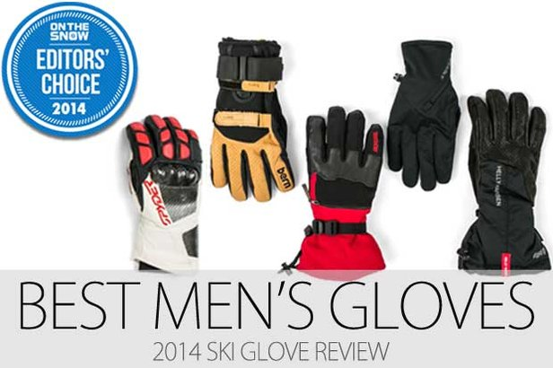 Men's Editors' Choice ski gloves for 2014.