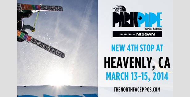 The North Face Park and Pipe Open in Heavenly's Ante Up park this month.  - ©North Face Park and Pipe Open Series Facebook