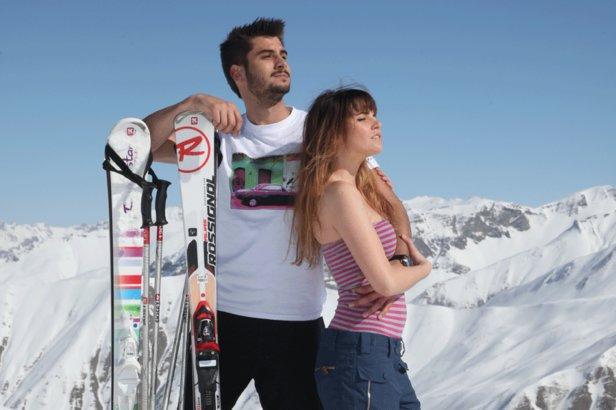 Skiez au printemps