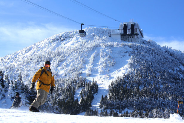 5 Ways to Avoid Presidents Ski Crowds - ©Jay Peak Resort
