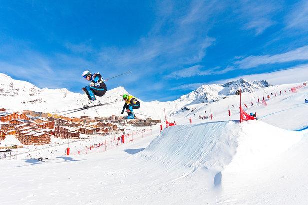 Skicross à Val Thorens - ©C.Cattin / OT Val Thorens
