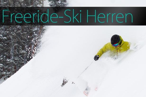 Skitest 2015: Freeride-Ski Herren - ©Skiinfo | OnTheSnow