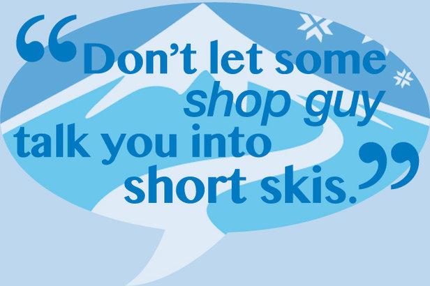 5 Rules for Proper Ski Length