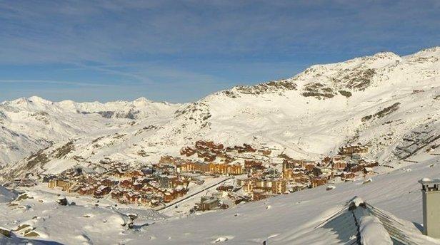 Perfect conditions to kick of the ski season in Val Thorens (Nov. 21, 2014) - ©Val Thorens