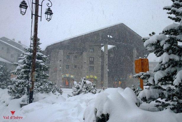 Val d'Isere Dec. 27, 2014 - ©Val d'Isere