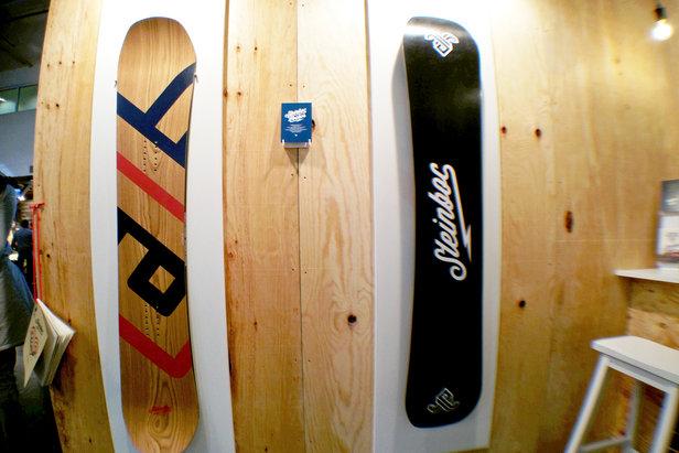 ISPO 2015: Boards bei STEINBOC - ©Stefan Drexl