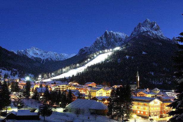 Le migliori 10 piste della Val di Fassa - 7) Ski Stadium Aloch - ©Val di Fassa / R. Bernard