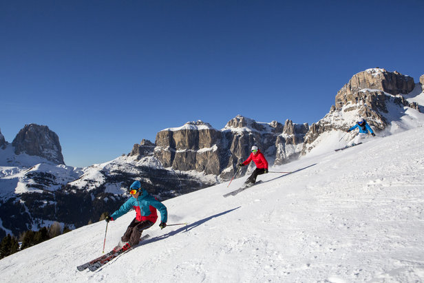 Le migliori 10 piste della Val di Fassa - 1) Skiarea Belvedere Gherdecia - ©Val di Fassa / R. Brunel