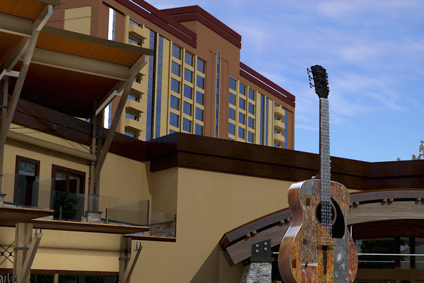 The Hard Rock Hotel and Casino opened in South Lake Tahoe in late January 2015. - ©Hard Rock Hotel Casino Lake Tahoe