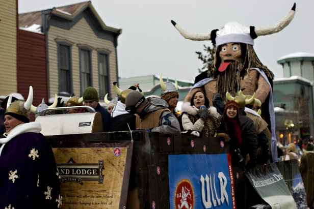 Breckenridge CO Ullr Fest Parade Float - Timothy Faust