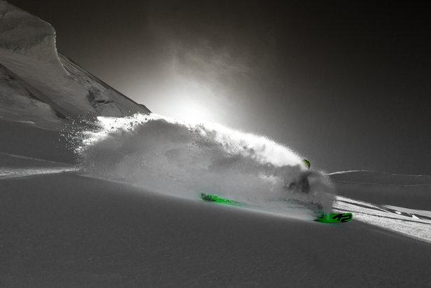 Auf dem nordseiten Run Richtung Zermatt (Monterosa Ski)