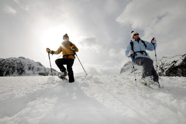 Schneeschuhe 2016/2017 im Test: Neun Modelle für Winterwanderer - ©bergleben.de/Michael Rauschendorfer, triaphoto.com