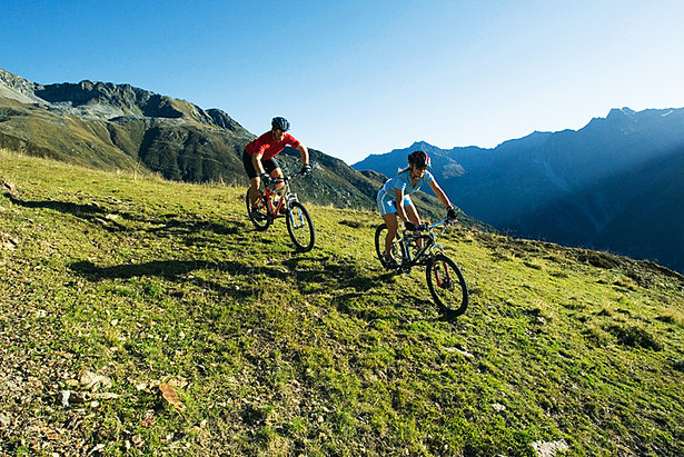 Transalp mit dem Mountainbike - ©Bernd Ritschel