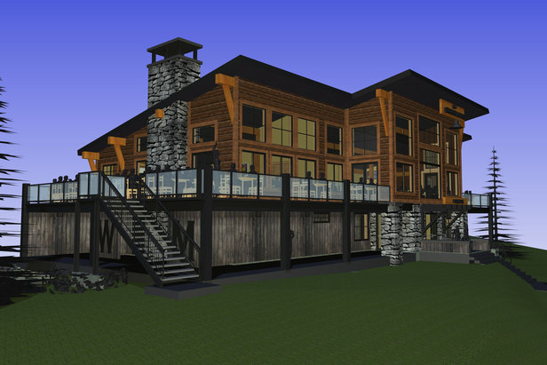 Schweitzer Mountain Resort's Proposed Summit Lodge - ©Anticipated Completion in 2016