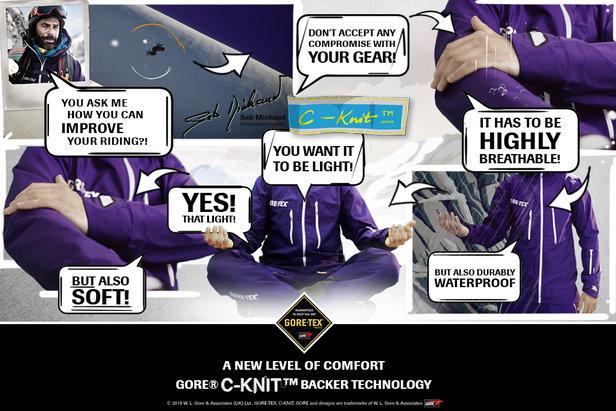 confort et resistance GORE® C-KNIT™