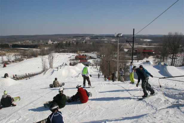 Sunburst Progression Tubing Park