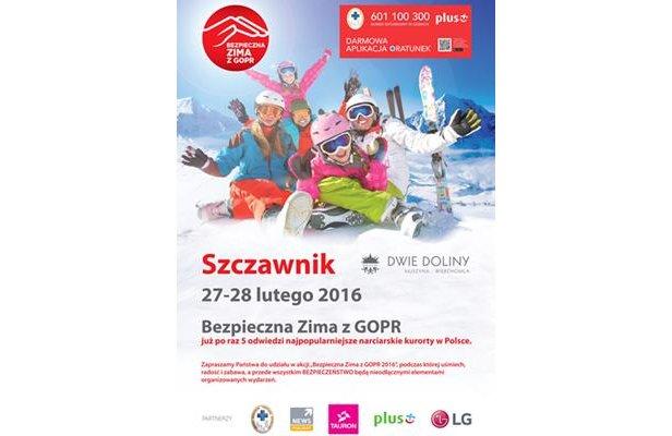 Bezpieczna zima z GOPR - 27-28.02.2016 r. - ©www.wierchomla.com.pl