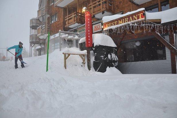 Gallery: Big powder dumps in the Alps 14.1.17 - ©Avoriaz/Facebook