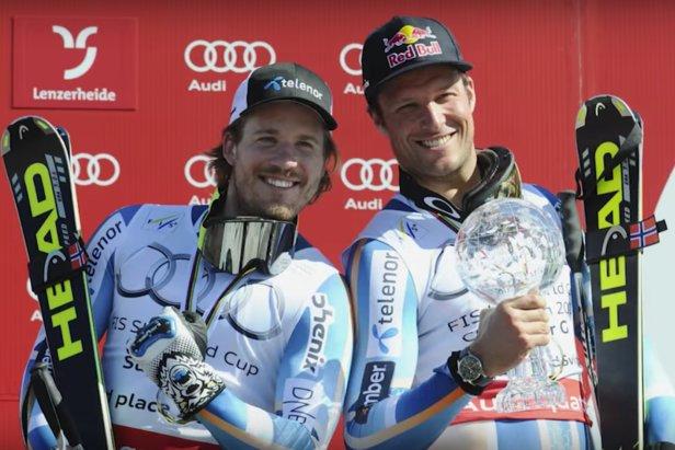 CNN sitt portrett av Kjetil Jansrud og Aksel Lund Svindal er den mest sette videoen på skiinfo.no i 2016. - ©Skjermbilde