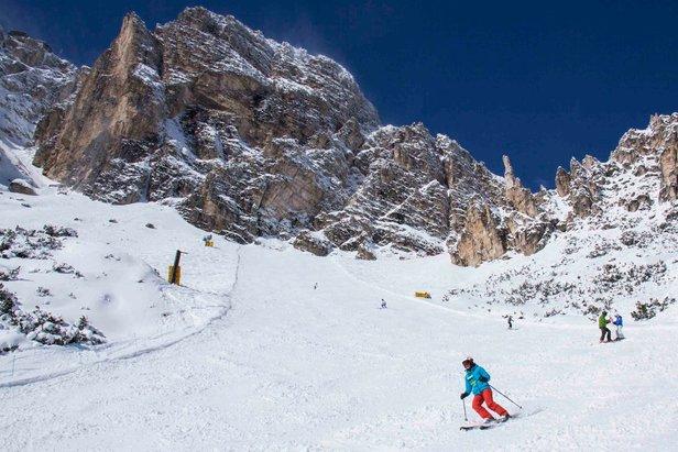 Viele Neuheiten im Skiverbund Dolomiti Superski für den Winter 17/18 - ©Tofana - Freccia nel cielo Facebook