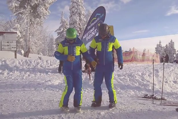 Správna rozcvička je základ - i pre lyžiarskych inštruktorov - ©SkiResort ČERNÁ HORA - PEC