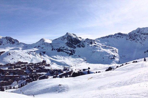 Weekly Snow Report 22/3/17 - ©La Plagne/Facebook