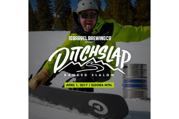 Eldora Mountain Resort Hosts Inaugural Ditchslap Banked Slalom Presented by 10 Barrel Brewing Co. on Saturday, April 1 - ©Eldora Mountain Resort