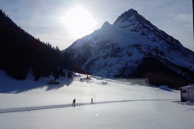 """Ostatni sektor to """"High & Nordic"""", czyli szlaki skiturowe i trasy biegowe - Galtür - ©Tomasz Wojciechowski"""