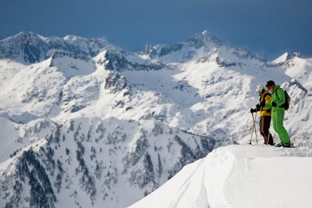 Weerbericht: sneeuw, zon, terug sneeuw - ©Station de Baqueira Beret