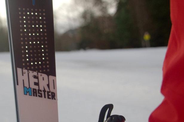 Présentation du 1er ski connecté - ©Rossignol