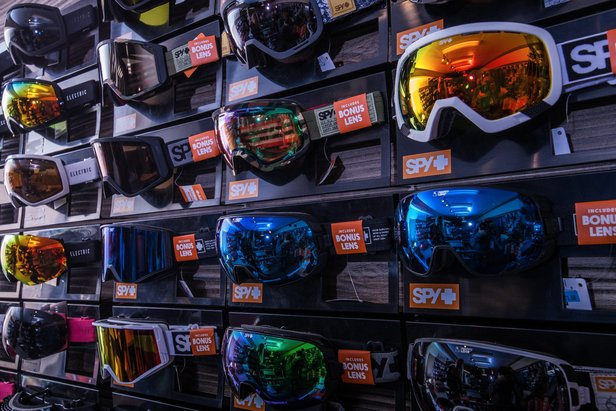 Good deals on gear is just another perk of spring skiing. - ©Big Bear Mountain Resort