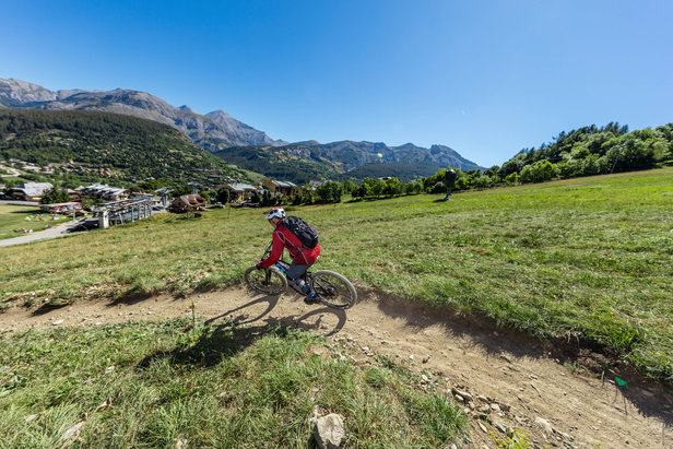 A la découverte du Bike Park de Val d'Allos - ©R. Palomba / Office de tourisme du Val d'Allos
