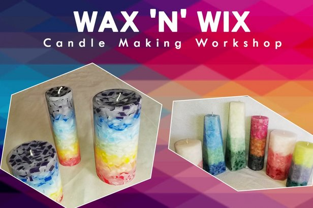 Candle Making Workshop - ©Create your own candle with custom colors and scents, and enjoy a scenic gondola ride!