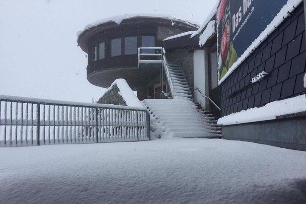 Winterlicher August: Viel Neuschnee in den Höhenlagen der Alpen