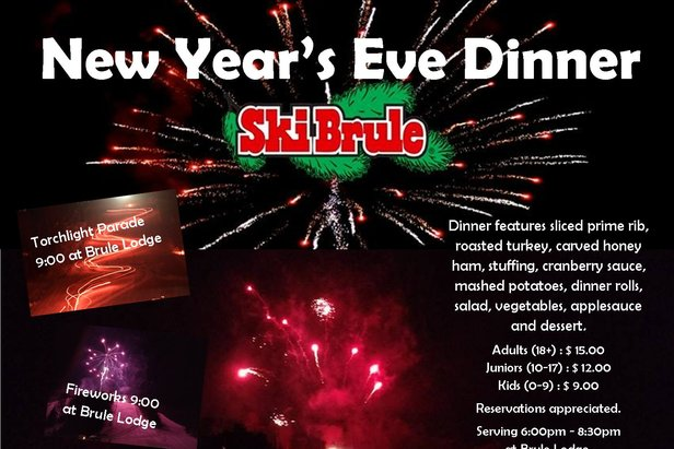 New Years Eve Dinner - ©Ski Brule