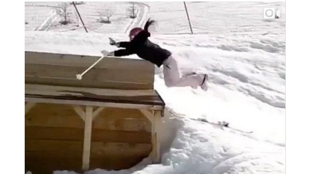 Jerry of the Day: Die 16 witzigsten Ski- und Snowboard-Crashes der Saison 16/17 auf Instagram - ©Instagram