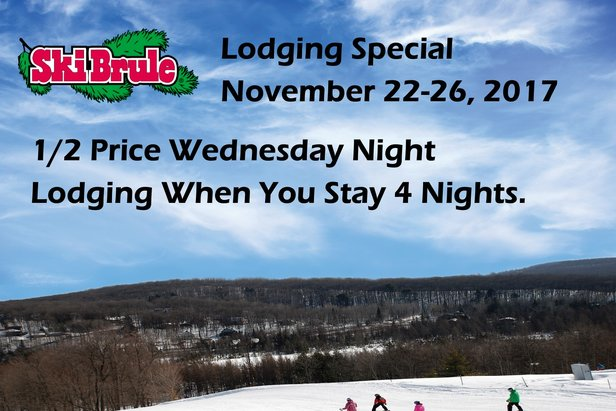 Thanksgiving Lodging Special - ©Ski Brule