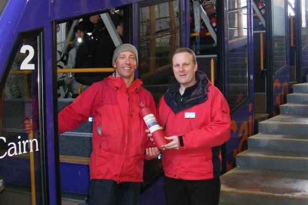 Cairngorm 100000th Skier