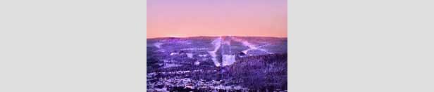 Kongsberg - kveldsbilde 200px