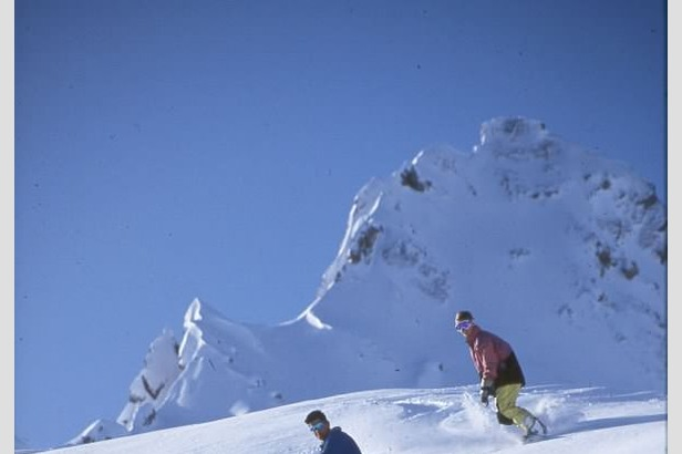 Snowboarder im Tiefschnee - ©Fankhauser / Zillertal