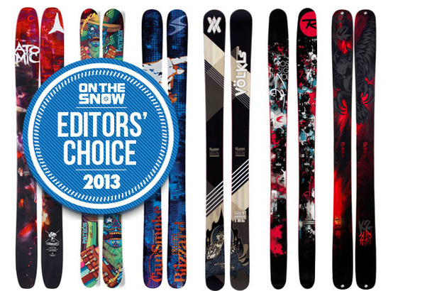 2013 OTS Editors' Choice Men's Powder Skis