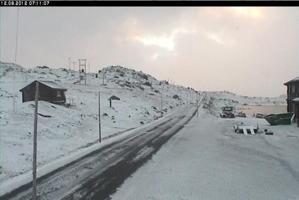 Sognefjellshytta, Webcam
